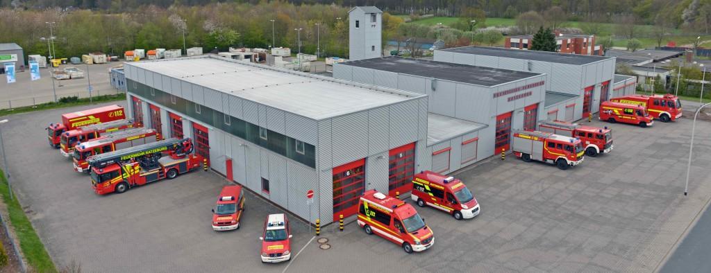 Die Wache der Feuerwehr Ratzeburg